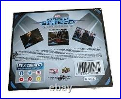 Factory Sealed Hobby Box 2019 Marvel Agents of SHIELD Compendium Trading Cards