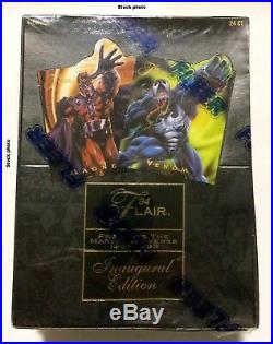 Flair'94 Marvel Universe Inaugural Edition sealed box Fleer 1994 trading cards