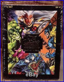 Flair Marvel Annual 1995 Sealed Factory Box Misfb