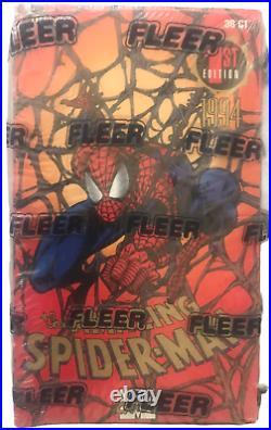 Fleer 1st Edition 1994 Marvel Amazing Spider-Man Trading Card Box NEW 36 Packs