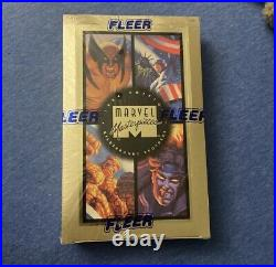 Fleer Factory Sealed 1994 Edition Marvel Masterpieces Trading Cards