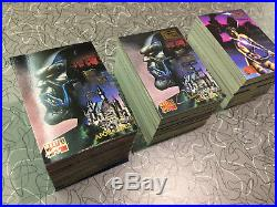 Fleer Marvel Masterpieces 1995 Base set, E-Motion, Holoflash & Canvas cards MINT