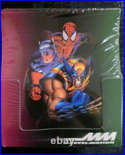 Fleer Skybox 1996 Marvel Motion Trading Card Box Hobby Sealed New