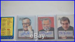 Fleer Skybox 1998 Marvel The Silver Age Complete Auto SIgned Card Set Stan Lee