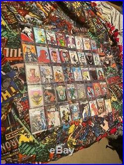 Fleer Ultra Spider-Man 40+72 Sketch Cards, Marvel Premier SkethFX Marvel DC OOAK
