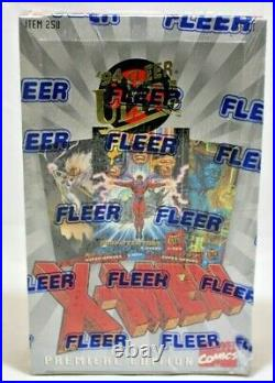 Fleer X-Men Ultra Premier Edition Trading Cards Box 36 Packs sealed 1994