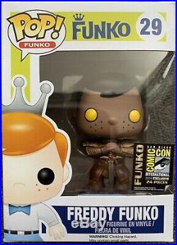 Freddy Heimdall LE24 SDCC 14 Marvel Thor Funko POP! Vinyl Figure Grail