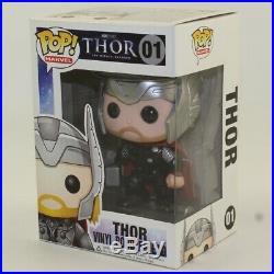 Funko POP! Marvel Bobble Figure Thor The Mighty Avenger THOR #01 NON-MINT
