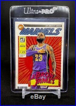 (GRADE READY) 2019-20 Panini Donruss Net Marvels Lebron James LA Lakers SP