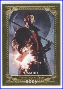 Gambit preliminary Art Dave Palumbo 20020 Marvel Masterpieces
