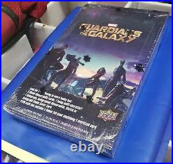 Guardians of the Galaxy Marvel Movie Sealed Trading Card Box Hobby Edition
