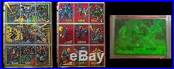 HUGE Collection of Complete Marvel Universe AND Masterpieces Card Sets! 1990-94