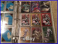 HUGE Silver Surfer Lot Many Sets 1995 1996 2016 Marvel Masterpieces Retro Pmg +