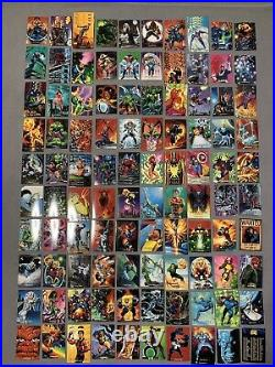 Huge Lot 1200+ comic trading cards Marvel X-Men DC & more (1991 1992 1993 1994)