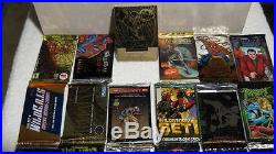 Huge Lot of 600+ Unopened Packs Marvel Universe Masterpiece DC Spiderman Batman