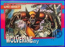 Impel 1992 Marvel Uncanny X-Men Card Jim Lee Signature Autograph Wolverine