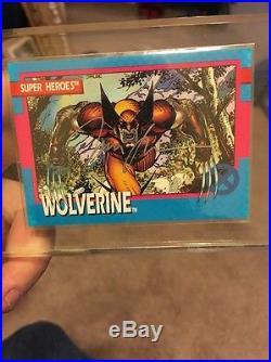 Impel 1992 Marvel Uncanny X-Men Jim Lee Autographed Wolverine