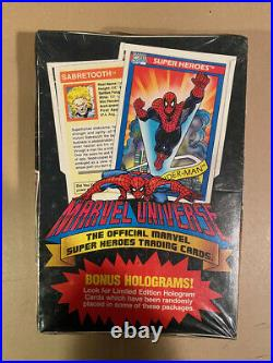 Impel Marvel Universe Series 1, 2, 3 Factory Sealed Trading Card Boxes 1990