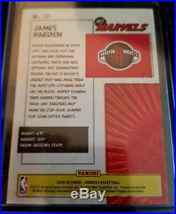 JAMES HARDEN 2019-20 Donruss Net Marvels GOLD PRESS PROOF #13 SP Houston Rockets