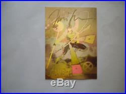 Jim Lee Signed X-Men Impel Series 1 RARE GAMBIT HOLOGRAM Card Marvel Comics 1992
