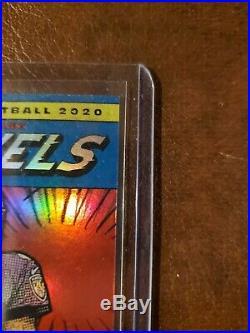 Lamar Jackson Football 2020 Donruss Marvel Ravens SSP. Card # M-LJ