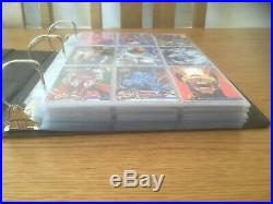 Large Marvel Flair Annual And Fleer Ultra Xmen Card Collection/job Lot/bundle