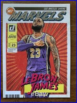 LeBron James Net Marvels Panini Donruss NBA Card 2019-20 Insert