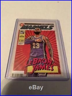 Lebron James 19-20 Donruss Net Marvels # 19 Plus Mosaic Base And Mvp Base