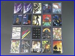 Limited Run Games lot 20 Trading Cards gold set Furi Wonder Boy Steamworld Dig