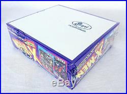 Lot of (2) 1992 Impel Marvel Uncanny X-Men factory Sealed Trading Card Boxes Lee