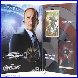 MARVEL AVENGERS Agent Coulson`s Captain America Trading Cards EFX COLLETCIBLES