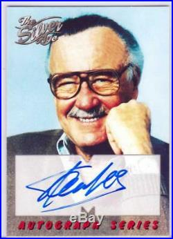 MARVEL SILVER AGE (1998)-Autograph Insert #A1 STAN LEE / THE MAN! ^