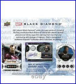 MARVEL Upper Deck BLACK DIAMOND TRADING CARDS HOBBY BOX UPPER DECK 2021