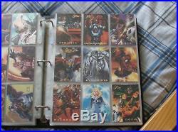 Marvel 1994 Flair Full 150 Card Base set & 18 Card Powerblast (Rare)