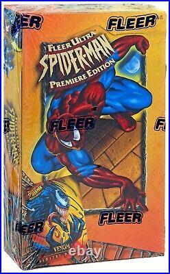 Marvel 1995 Fleer Ultra Spider-Man Trading Card Box Premiere Edition