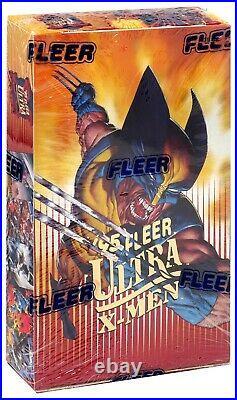 Marvel 1995 Fleer Ultra X-Men Trading Card Box 36 Packs