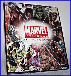Marvel 2011 Super Ultimate Mini-master Set & Binder++