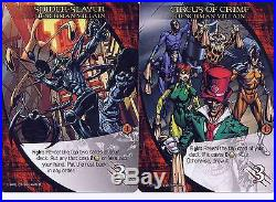 Marvel 3D Legendary 95-Card Playable Set 5x14 Hero 2x10 Henchman 5 Bystander