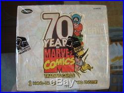 Marvel 70th Anniversary 12 Sealed Box Case SKETCH IN EVERY BOX