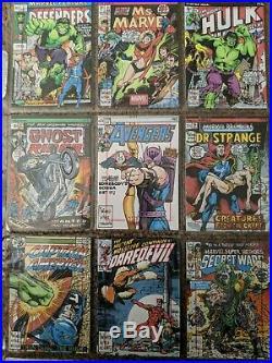 Marvel 75th Anniversary Warren Martineck 9 Card Incentive Sketch Set