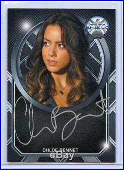 Marvel Agents of S. H. I. E. L. D. Chloe Bennet Skye Auto Case Incentive Autograph