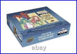 Marvel Anime Trading Cards Hobby Box (upper Deck 2020)