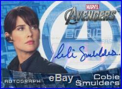 Marvel Avengers Assemble 2012 Autograph Cobie Smulders As Maria Hill