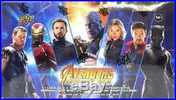 Marvel Avengers Infinity War Hobby Box (upper Deck 2018)