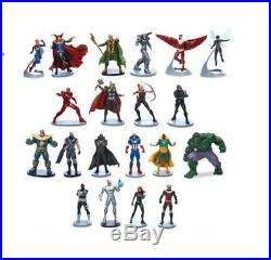 Marvel Avengers Mega Figurine Playset, Set of 20 Figures Brand New & Boxed