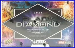 Marvel BLACK DIAMOND Trading Cards Hobby Box (UD 2021) SEALED
