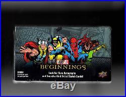 Marvel Beginnings series 1 sealed Box