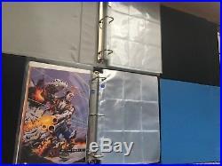 Marvel Binder Collector Album Lot 95 Fleer Ultra X-Men Spider-Man Metal Flair