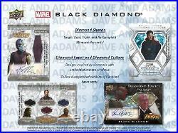 Marvel Black Diamond Trading Cards Hobby 5-box Case (upper Deck 2021)