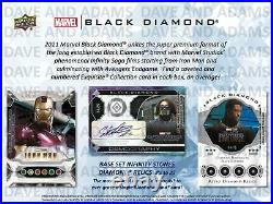 Marvel Black Diamond Trading Cards Hobby Box (upper Deck 2021)